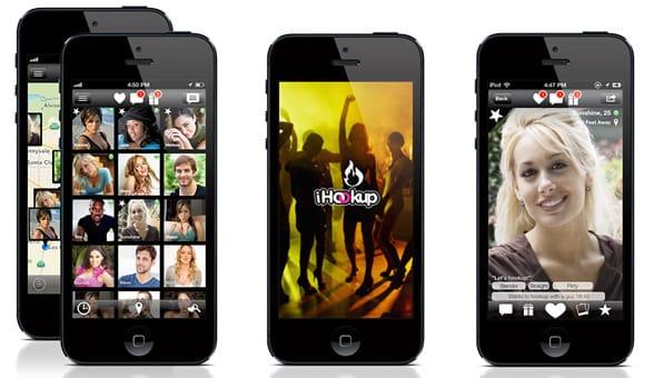 Photo of the iHookup app