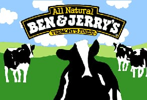 Photo of the Ben & Jerry's logo