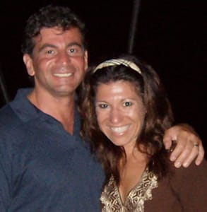 Photo of Lori Bizzoco, Founder of Cupid's Pulse, with her husband