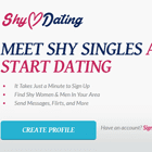 Shy Dating