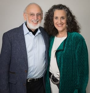 Photo of Dr. John Gottman and Dr. Julie Schwartz Gottman, Founders of the Gottman Institute