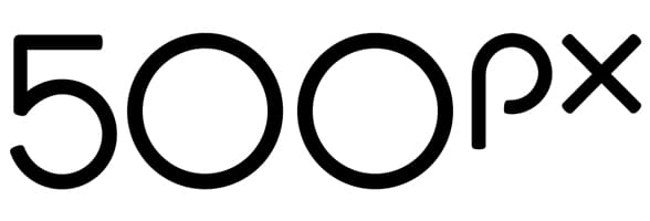 Photo of the 500px logo