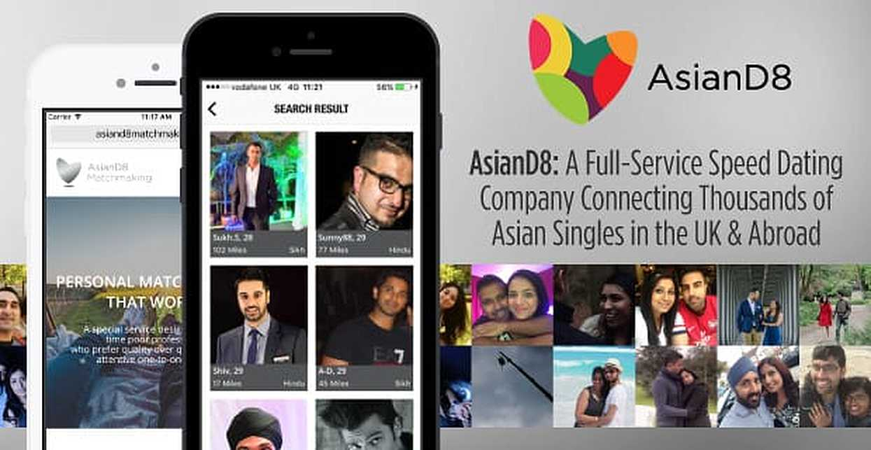 AsianD8: A Full-Service Speed Dating Company Connecting Thousands of Asian Singles in the UK & Abroad