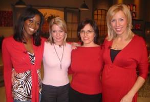 """Photo of Kat Spiwak on W Network's """"3 Takes"""""""