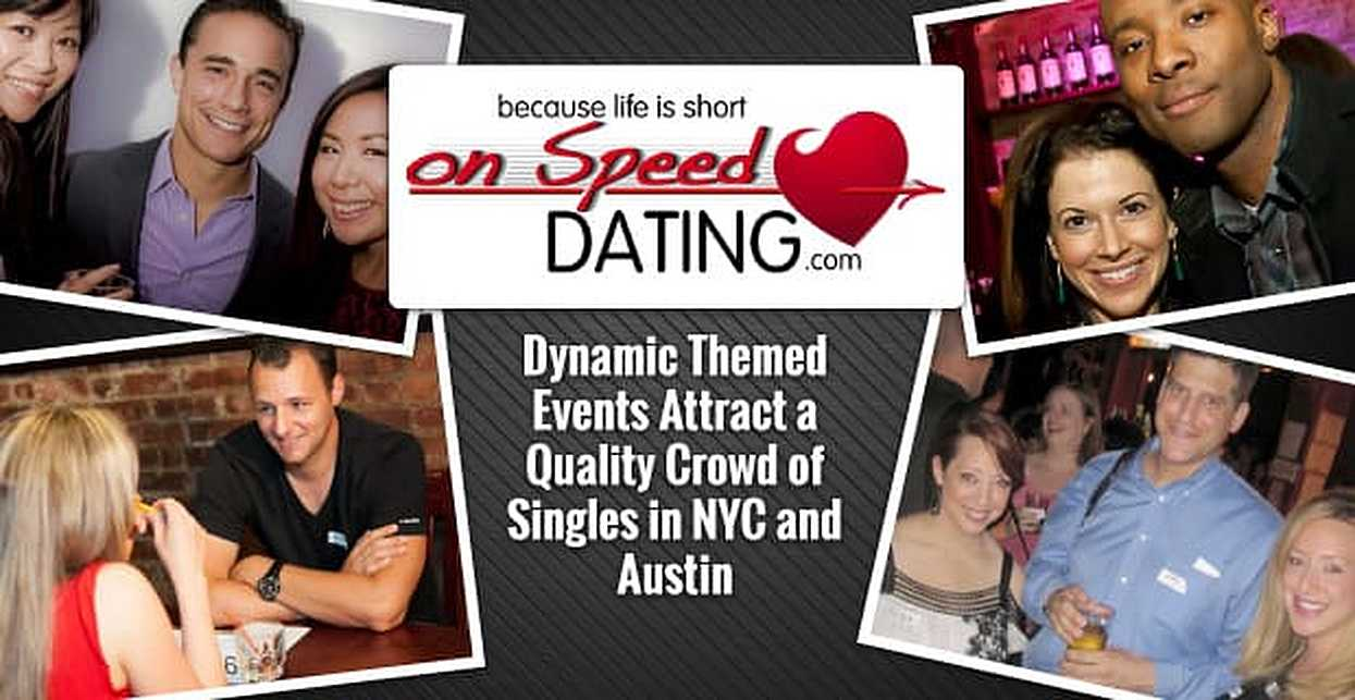 How do you organize a speed hookup event
