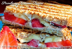Photo of the Strawberry Banana Panini courtesy of CKatz