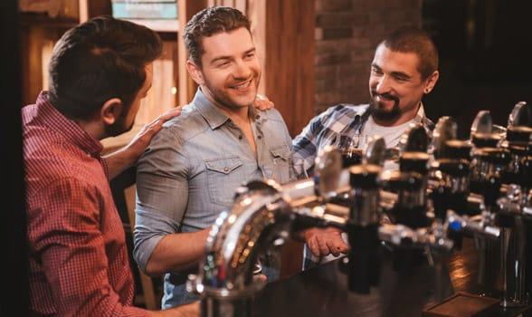 Photo of friends talking