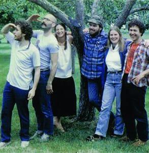 Photo of Frontier Co-Op's first Board of Directors