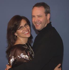 Photo of Kat Spiwak and her husband Ian