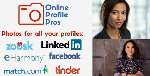 Photo of the Online Profile Pros logo and headshots