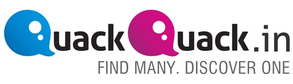 Photo of the QuackQuack logo