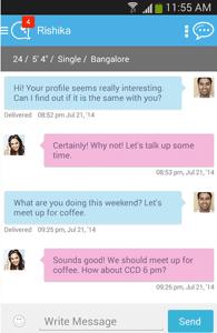 Screenshot of a conversation on QuackQuack