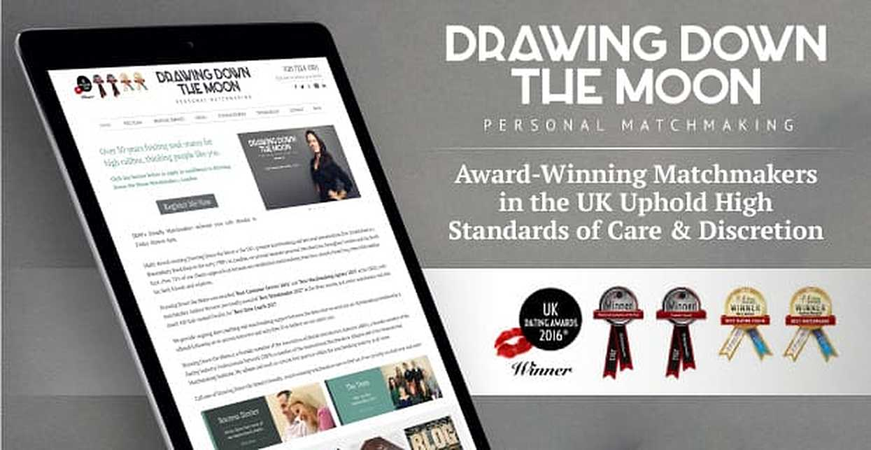 Drawing Down the Moon™ — Award-Winning Matchmakers in the UK Uphold High Standards of Care & Discretion