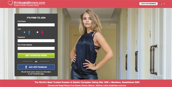 Screenshot of Bridesandlovers.com