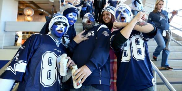 Photo of Dallas Cowboys fans
