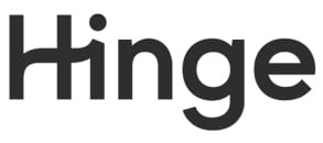 Photo of the Hinge logo