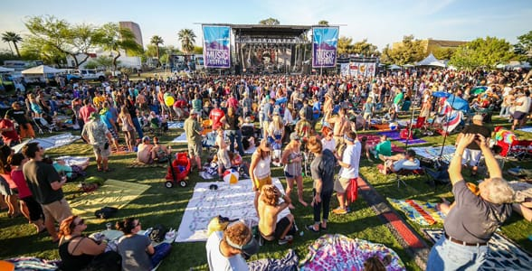Photo of the McDowell Mountain Music Festival