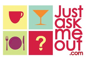Photo of the JustAskMeOut logo