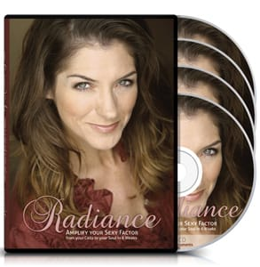 Photo of the Radiance DVDs by Allana Pratt