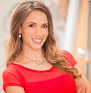 Photo of April Davis, Founder of Luxe Matchmaking