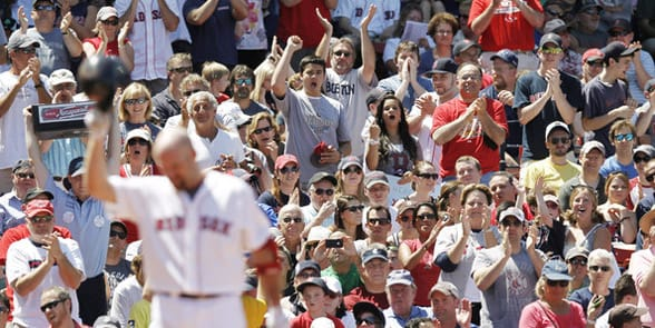 Photo of Boston Red Sox fans