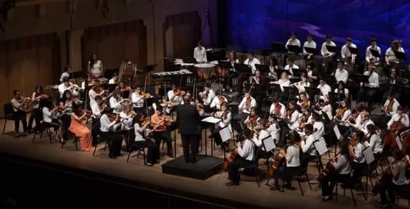 Photo of the El Paso Symphony