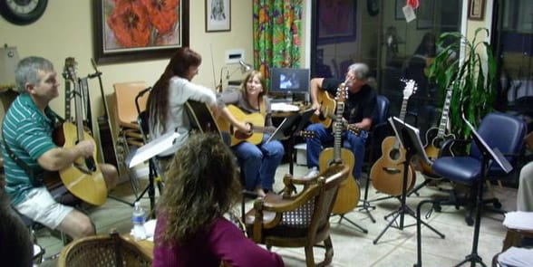 Photo of a Fort Worth guitar club