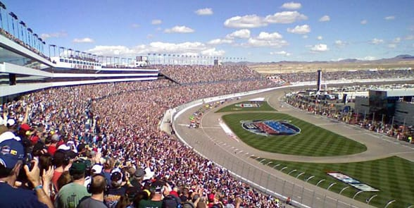 Photo of the Las Vegas Motor Speedway