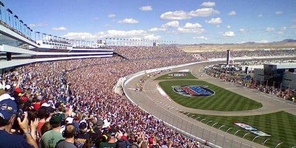 Photo of the Las Vegas Motor Speedway