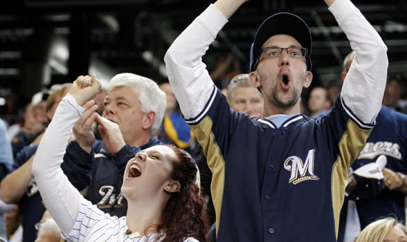 Photo of Milwaukee Brewers fans