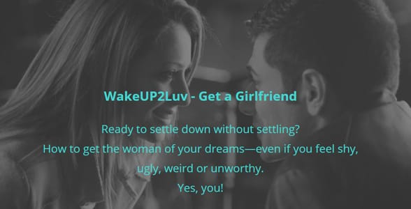 Screenshot of the WakeUp2Luv program