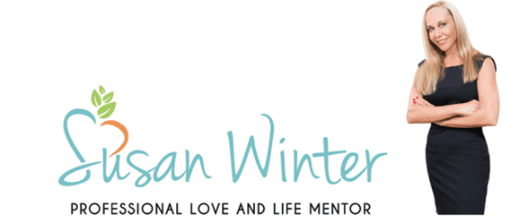 Photo of Susan Winter and her website logo