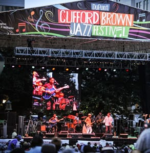 Photo of the Clifford Brown Jazz Festival