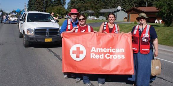 Photo of people volunteering in Anchorage