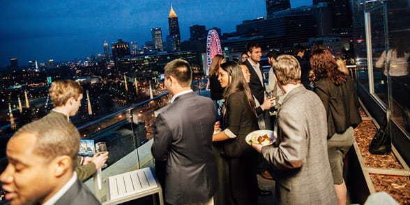 Photo of an Atlanta Under 40 event