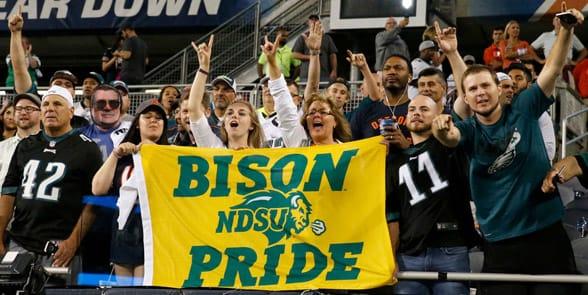 Photo of NDSU fans