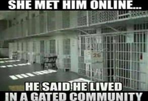 Screenshot of a catfishing meme