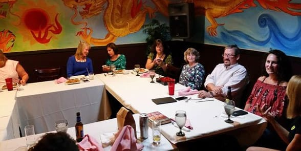 Photo of a Manchester book club