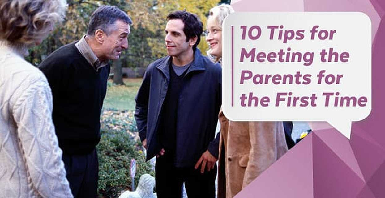 10 Tips for Meeting the Parents for the First Time