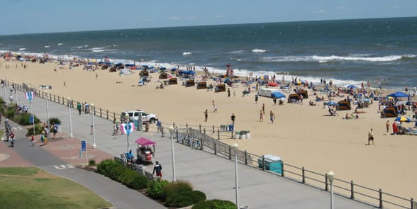 Photo of the Virginia Beach Boardwalk