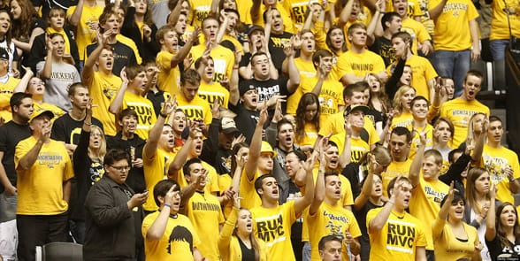 Photo of Shockers fans
