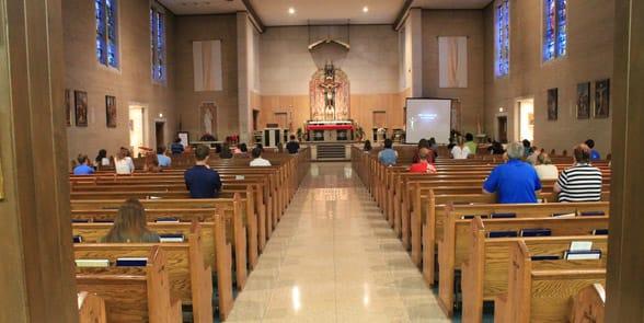 Photo of a church in Wichita