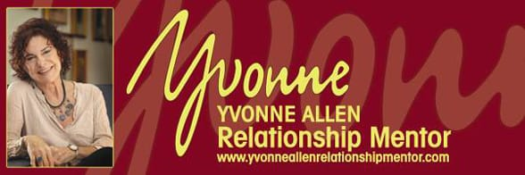 Yvonne Allen's headshot and logo