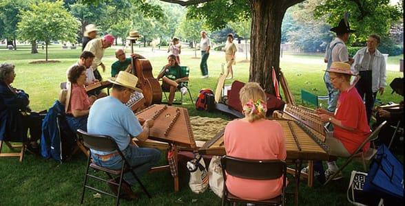 Photo of the Vandalia Gathering