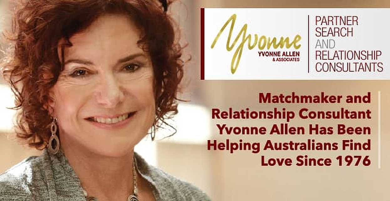Matchmaker and Relationship Consultant Yvonne Allen Has Been Helping Australians Find Love Since 1976