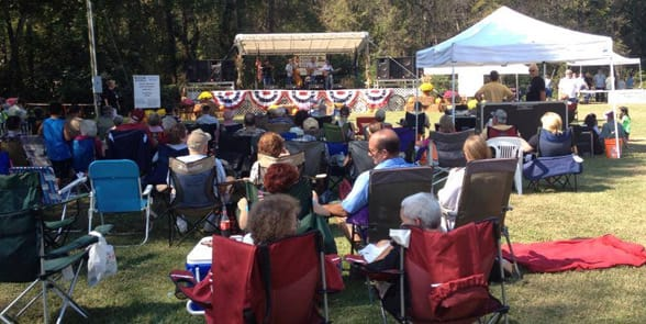 Photo of the Congaree Bluegrass Festival