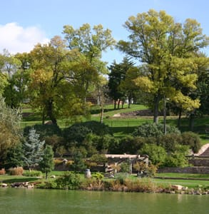 Photo of the gardens at Terrace Park