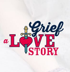 Screenshot of the Grief: A Love Story logo