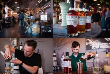 The Mad River Distillers began in a 150-year-old ramshackle barn in the  Green Mountains and now sells award-winning spirits across the Northeast.