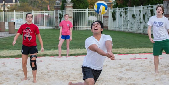 Photo of an intramural sports team